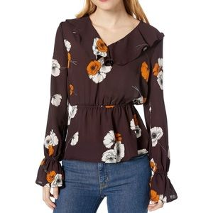 Cupcakes and Cashmere Jovita Fall Poppy Blouse